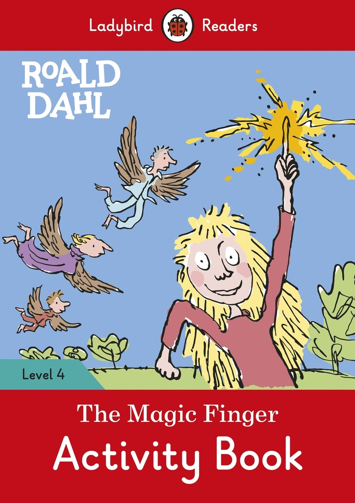 MAGIC FINGER, THE ACTIVITY BOOK