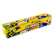 [70764] TEMPERA JUNIOR COLOR SET 22 GR X 6 COLORES | TUCAN