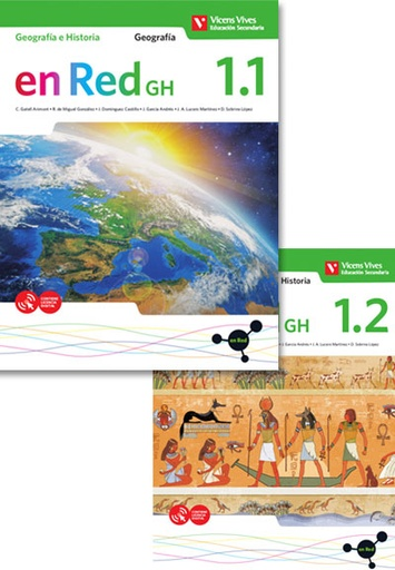 EN RED G&H 1 LIBRO 1 Y 2 GEOGRAFIA E HISTORIA | VICENSVIVES