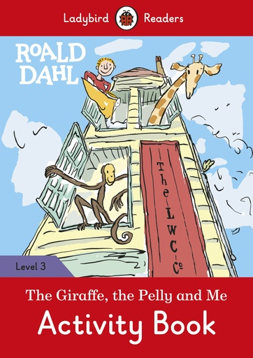 GIRAFFE, THE PELLY AND ME, THE ACTIVITY BOOK | VICENSVIVES